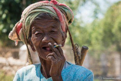 Villager Lady, Myanmar